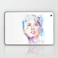 Eyes Of Blue . . . Portr… Laptop & iPad Skin