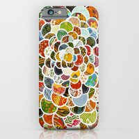 iPhone Cases featuring Flower Power by Jenndalyn
