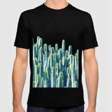 Cactus V2 #society6 #decor #fashion #tech #designerwear Mens Fitted Tee Black SMALL