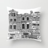 New Cross, London Throw Pillow