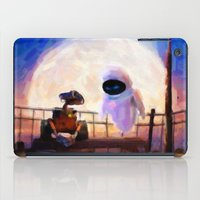 Wall-E & Eve - Painting … iPad Case