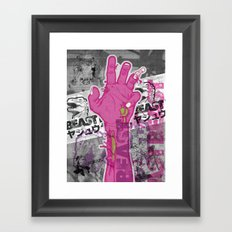 Zombie Reach Framed Art Print