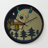Home is where the monsters are Wall Clock