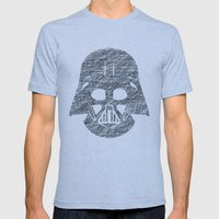 Lines of Vader Mens Fitted Tee Athletic Blue SMALL
