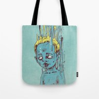 The Blue Boy With Golden… Tote Bag