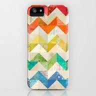 Chevron Rainbow Quilt iPhone (5, 5s) Slim Case