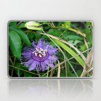 Passion Vine Flower Laptop & iPad Skin