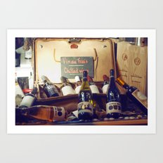 Vin au Frais: Chilled Wine Art Print