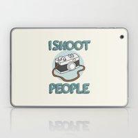 I Shoot People Laptop & iPad Skin