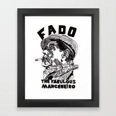 Fado Marceneiro Framed Art Print