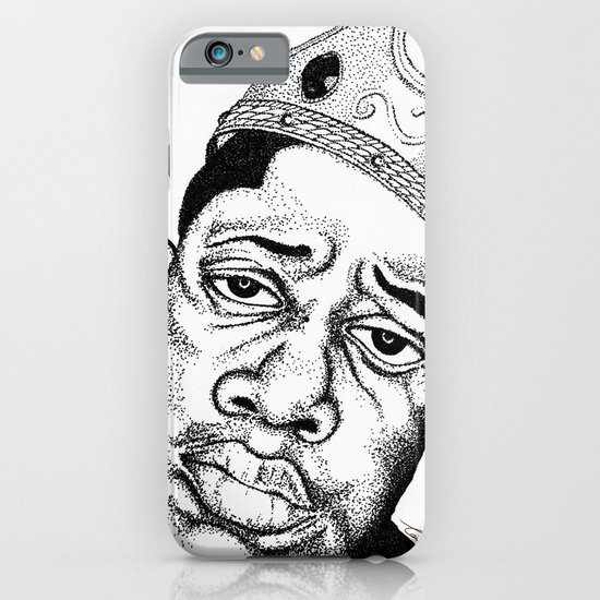 Biggie Smalls Stippling iPhone & iPod Case
