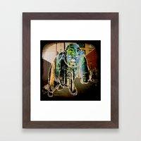 Back to cali-cali Framed Art Print