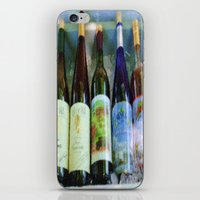 vino time iPhone & iPod Skin