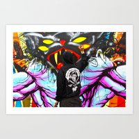 At Work Art Print