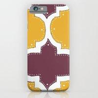 Morocco Orange & Plum iPhone 6 Slim Case