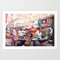 India New Delhi Paharganj 5577 Art Print