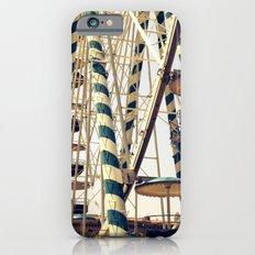 Vintage Ferris Wheel in Marseilles, France iPhone 6 Slim Case