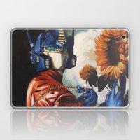 Optimus Prime With Sunfl… Laptop & iPad Skin