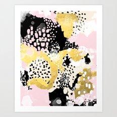 Simone - Abstract Painti… Art Print