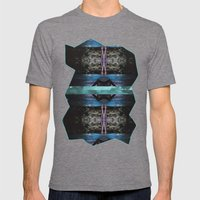 Genie Springs Mens Fitted Tee Tri-Grey SMALL