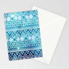 Tribal Ice Stationery Cards
