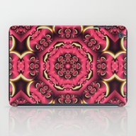 Fantasy Flower Kaleidosc… iPad Case