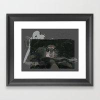 A Preview Framed Art Print
