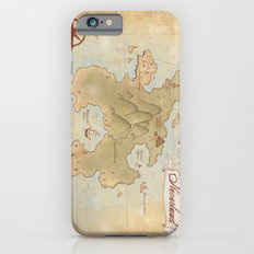Map of Neverland iPhone 6 Slim Case