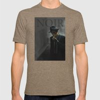 Noir Mens Fitted Tee Tri-Coffee SMALL