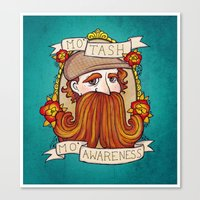 Movember Canvas Print