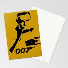007 James Bond Stationery Cards