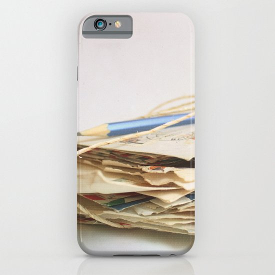 All The Letters That I Wrote To You IV iPhone & iPod Case