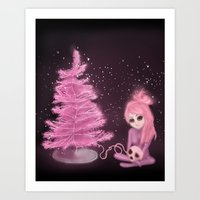 Intercosmic Christmas In… Art Print