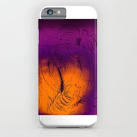 iPhone & iPod Case featuring Time ghost traveling through time devouring viruses and gracing lightheaded dreams by Isaac Isaac