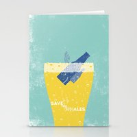 Save the Ales Stationery Cards