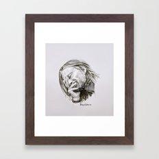 Radiohead Portrait Framed Art Print
