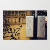Pay Phone IV Canvas Print
