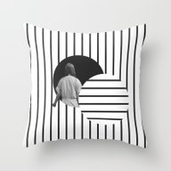 Throw Pillow featuring Into The Void by Tyler Spangler