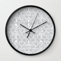 Heart Chandelier Wall Clock