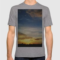 Feel The Sunset Mens Fitted Tee Athletic Grey SMALL