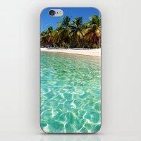water play iPhone & iPod Skin