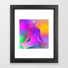 Stream Enterer Framed Art Print