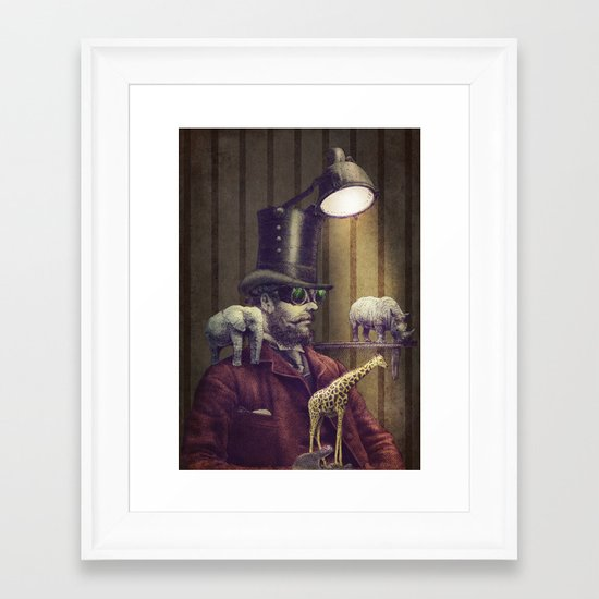 The Miniature Menagerie Framed Art Print