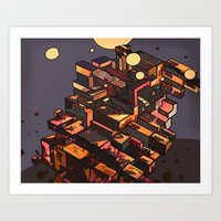 Locals Only - The Bronx,… Art Print