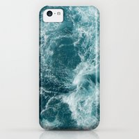 iPhone 5c Case featuring Sea by Vickn