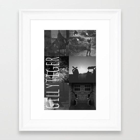 gillytiger Framed Art Print