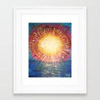 :: OneSun :: Framed Art Print