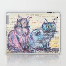 Here kitty, kitty Laptop & iPad Skin