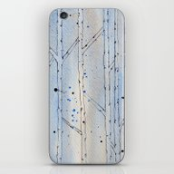 Winter Abstract iPhone & iPod Skin