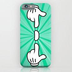 Floating Finger Sausage Slim Case iPhone 6s